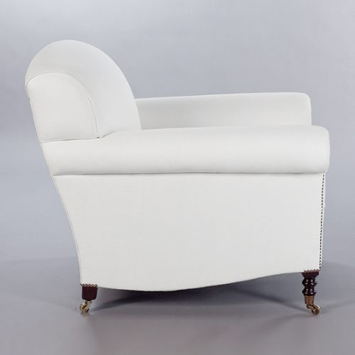 Full Sroll Arm Signature Chair. Monica James & Co. Miami Design District, South Florida. Local nation wide delivery.