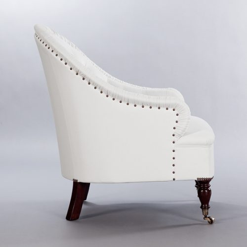 Markham Chair. Monica James & Co. Miami Design District, South Florida. Local nation wide delivery.