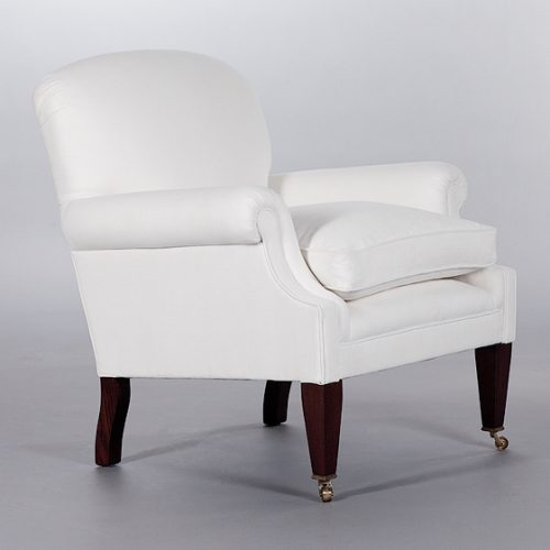 Dahl Chair with Seat Cushion. Monica James & Co. Miami Design District, South Florida. Local nation wide delivery.