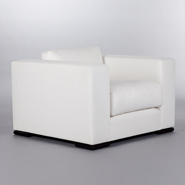 Square Chair. Monica James & Co. Miami Design District, South Florida. Local nation wide delivery.