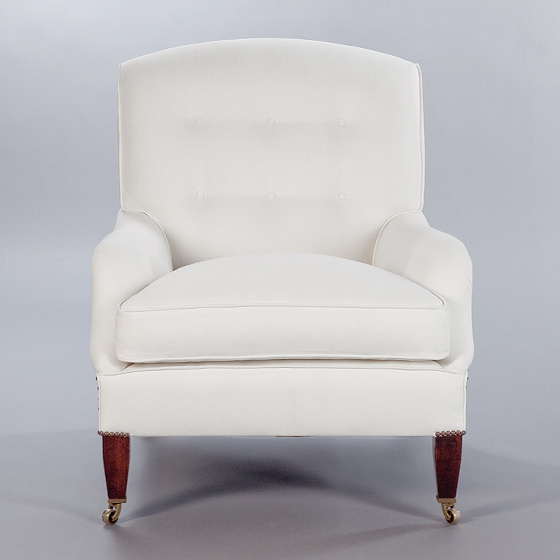 Lennagan Chair. Monica James & Co. Miami Design District, South Florida. Local nation wide delivery.