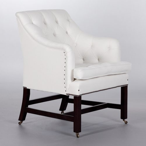 Georgian Desk Chair. Monica James & Co. Miami Design District, South Florida. Local nation wide delivery.