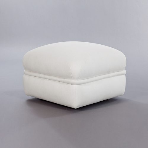 Ottoman Racer. Monica James & Co. Miami Design District, South Florida. Local nation wide delivery.