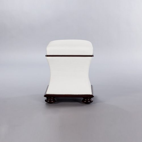 Baby Belville Ottoman. Monica James & Co. Miami Design District, South Florida. Local nation wide delivery.