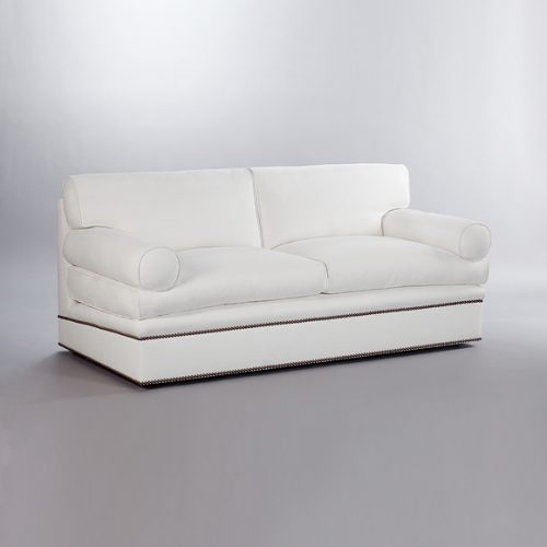 Bolster Sofa. Monica James & Co. Miami Design District, South Florida. Local nation wide delivery.