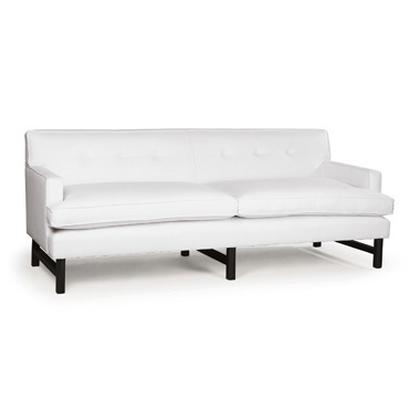 Brompton Fixed Back Short Arm Sofa. Monica James & Co. Miami Design District, South Florida. Local nation wide delivery.